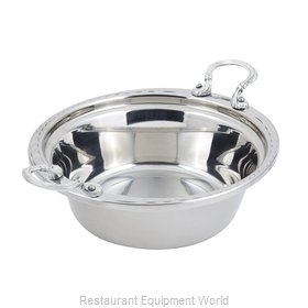 Bon Chef 5656HRSS Steam Table Pan, Decorative