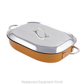 Bon Chef 60023CFCLDORANGE Induction Casserole Dish