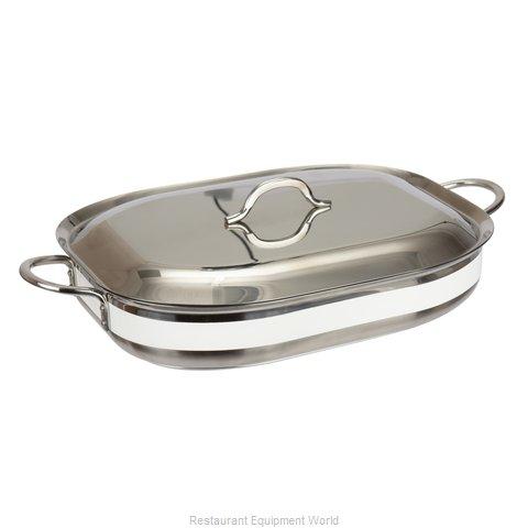Bon Chef 60023CFCLDWHITE Induction Casserole Dish