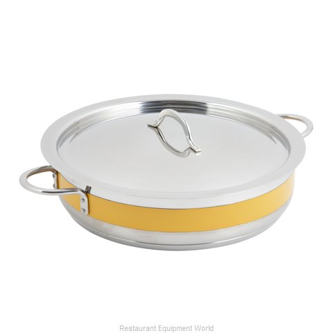 Bon Chef 60032CFYELLOW Induction Brazier Pan (Magnified)