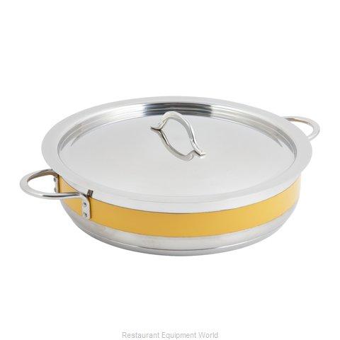 Bon Chef 60032CFYELLOW Induction Brazier Pan