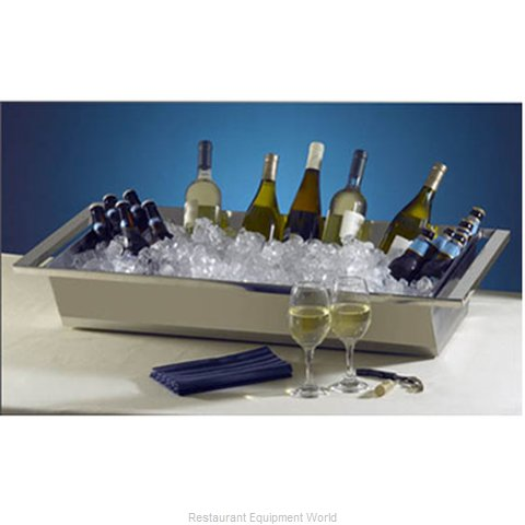 Bon Chef 61284 Ice Display Beverage Pan Housing (Magnified)