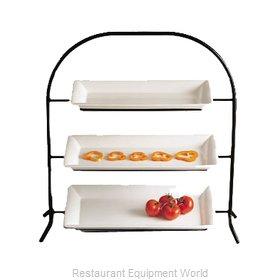 Bon Chef 7002BLKSPKLD Display Stand, Tiered