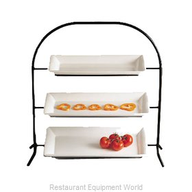 Bon Chef 7002PWHT Display Stand, Tiered