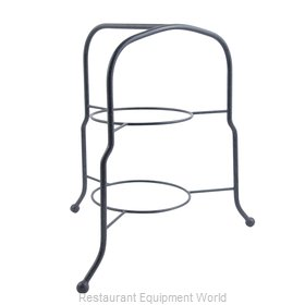Bon Chef 7004PWHT Display Stand, Tiered