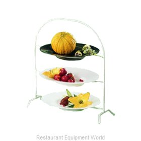 Bon Chef 7006WHTM Display Stand, Tiered