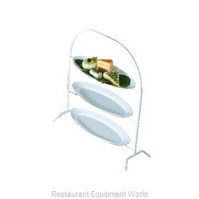 Bon Chef 7007BLK Display Stand, Tiered
