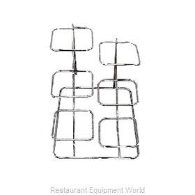 Bon Chef 7011LBLKSPKLD Display Stand, Tiered