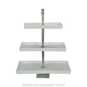 Bon Chef 80173TANGREVISION Cake / Pie Display Stand