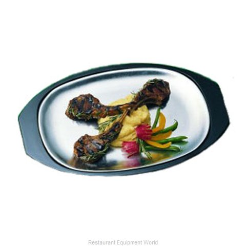 Bon Chef 82036 Sizzle Thermal Platter Underliner (Magnified)