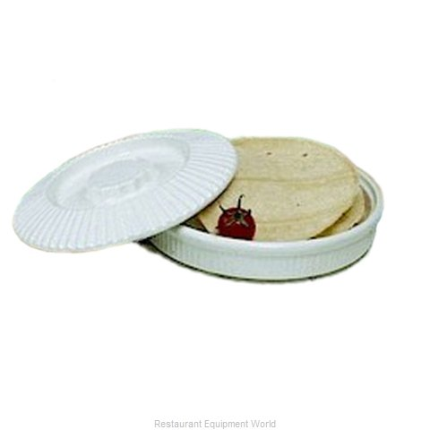 Bon Chef 9000CBLKSPKLD Tortilla Warmer / Basket