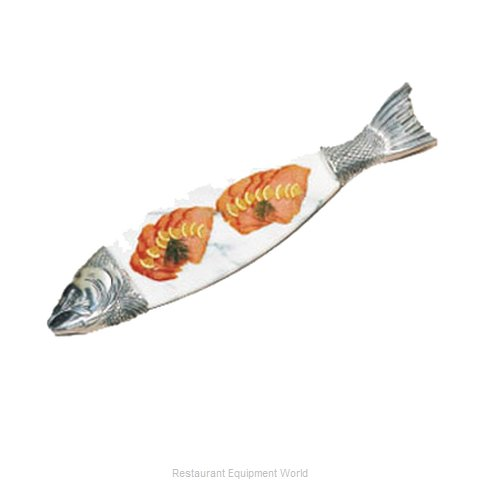 Bon Chef 9004MP Seafood Shaped Dish (Magnified)