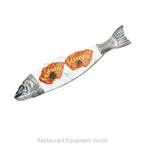 Bon Chef 9004MP Seafood Shaped Dish