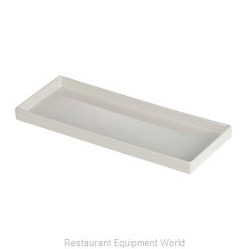 Bon Chef 9530PWHT Serving & Display Tray