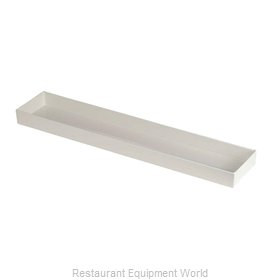 Bon Chef 9533PWHT Serving & Display Tray