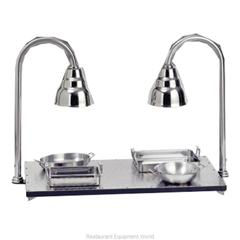 Bon Chef 9687 Heated Shelf Free-standing (Magnified)