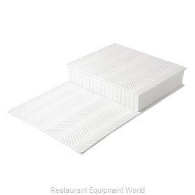 Bon Chef 9717WHTM Display Riser, Individual