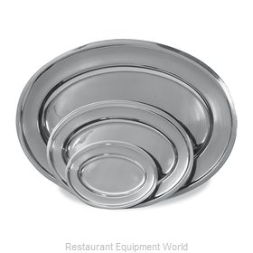 Browne 105341 Platter, Stainless Steel