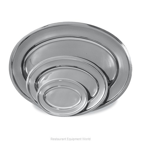 Browne 105370 Platter, Stainless Steel