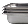 Browne 22004 Steam Table Pan, Stainless Steel