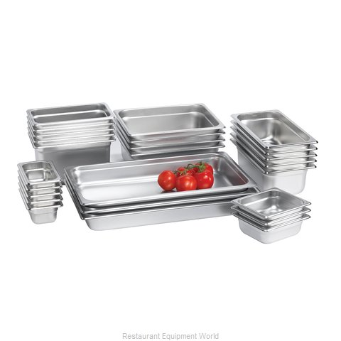Browne 48234 Steam Table Pan, Stainless Steel