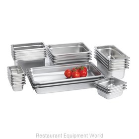 Browne 48236 Steam Table Pan, Stainless Steel