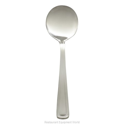 Browne 502613 Round Soup Spoon Royal Flatware (Magnified)