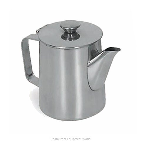 Browne 515001 Coffee Pot Teapot Stainless Steel Holloware