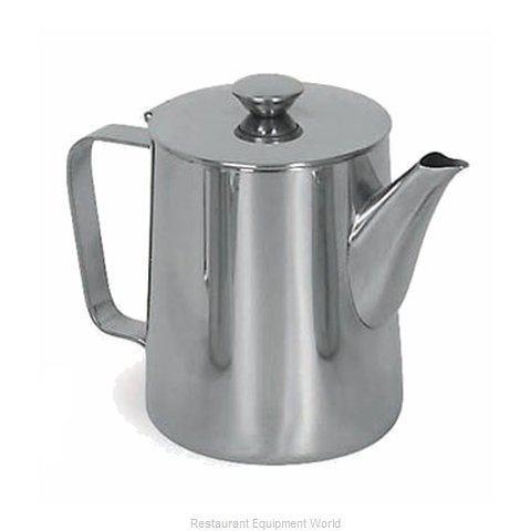Browne 515005 Coffee Pot Teapot Stainless Steel Holloware