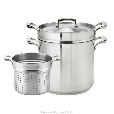 Browne 5724082 Induction Pasta Cook Pot (Magnified)