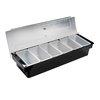 Browne 57483802 Bar Condiment Server, Countertop