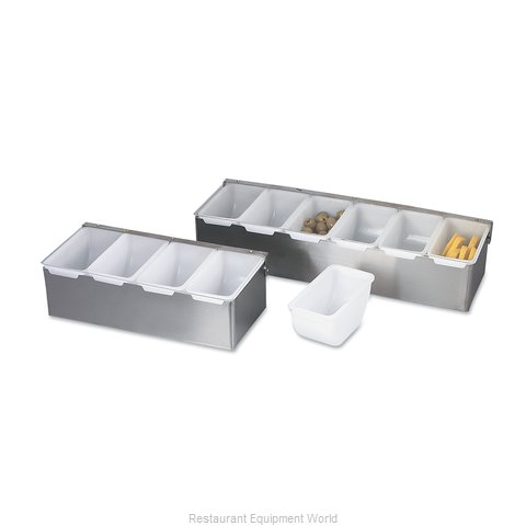 Browne 79302 Bar Condiment Server Countertop (Magnified)