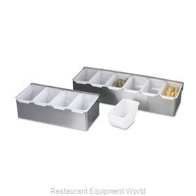 Browne 79302 Bar Condiment Server, Countertop