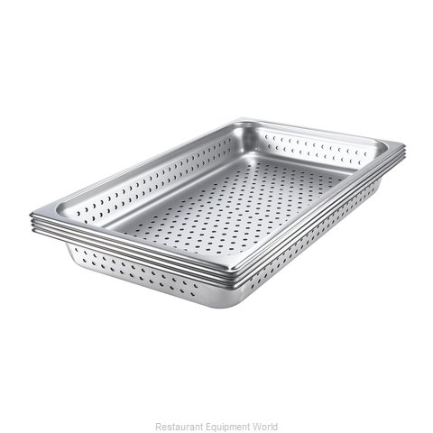 Browne 8004P Steam Table Pan, Stainless Steel (Magnified)