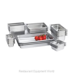 Browne 98126 Steam Table Pan, Stainless Steel