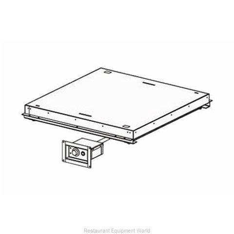 BSI LLC HTD-INF-NF-48 Heated Shelf Drop-In (Magnified)