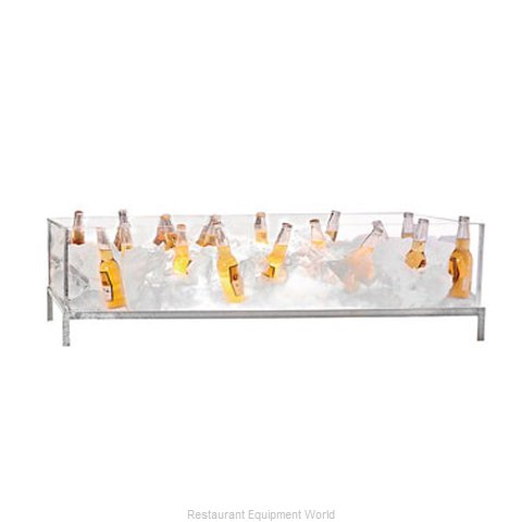 Buffet Enhancements 010BDA48 Ice Display Beverage Pan Housing