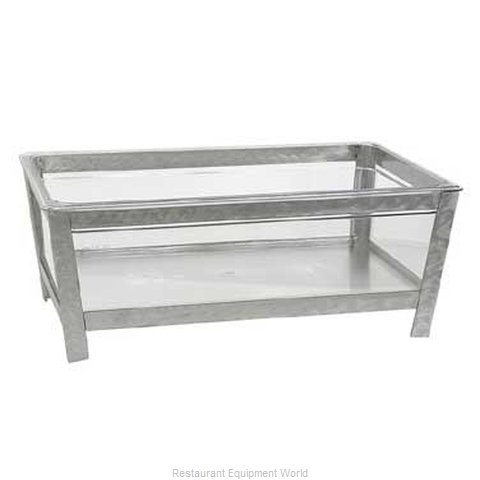 Buffet Enhancements 010BR20 Ice Display Beverage Pan Housing (Magnified)