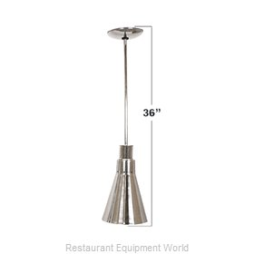 Buffet Enhancements 010HHN36-SS Heat Lamp, Bulb Type