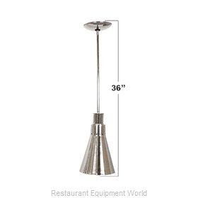 Buffet Enhancements 010HHN36-SS Heat Lamp, Bulb Type