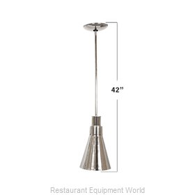 Buffet Enhancements 010HHN42-BK Heat Lamp, Bulb Type