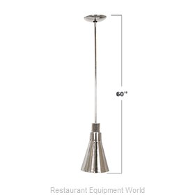 Buffet Enhancements 010HHN60-BK Heat Lamp, Bulb Type