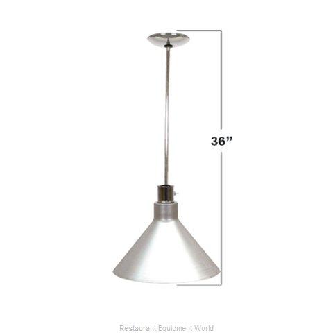 Buffet Enhancements 010HHW36-BK Heat Lamp, Bulb Type
