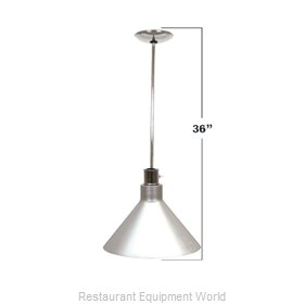 Buffet Enhancements 010HHW36-BK Heat Lamp, Bulb Type