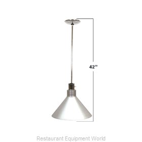 Buffet Enhancements 010HHW42-BK Heat Lamp, Bulb Type