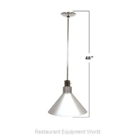 Buffet Enhancements 010HHW48-BK Heat Lamp, Bulb Type