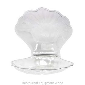 Buffet Enhancements 010SSHELL Ice Display Tray, Decorative