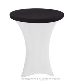 Buffet Enhancements 1B30TSP-BK Table Top Cover / Cap, Stretch