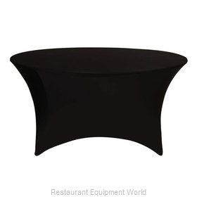 Buffet Enhancements 1B48FSP-BK Table Cover, Stretch