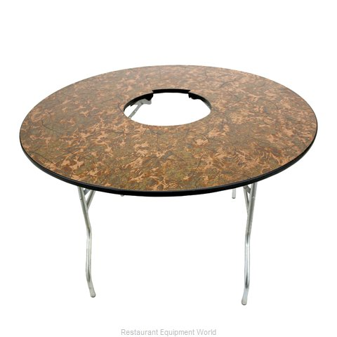 Buffet Enhancements 1BACFT48 Folding Table, Round